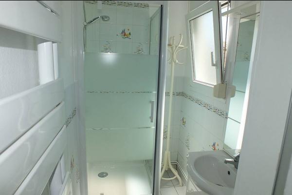 salle de bain - Location de vacances - Fort-Mahon-Plage