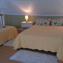 Chambre (étage) - Location de vacances - Fort-Mahon-Plage