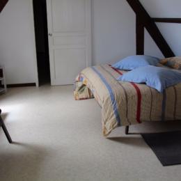 Chambre du studio - Location de vacances - Fort-Mahon-Plage