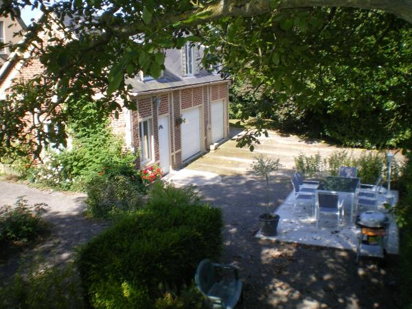 vue terrasse gite les garennes - Location de vacances - Friville-Escarbotin