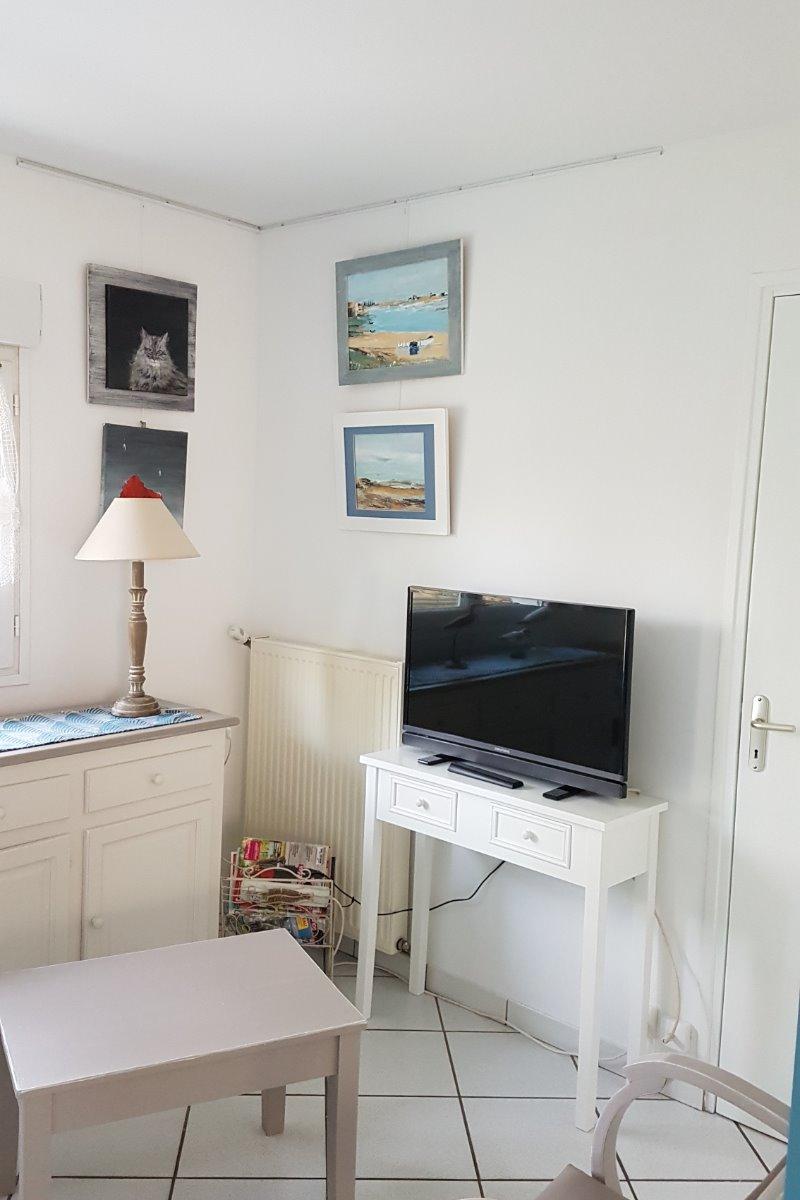 salon coin télévision - Location de vacances - Quend