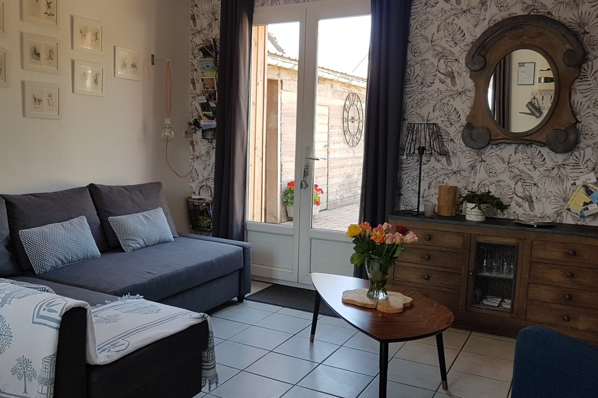Salon - Location de vacances - Saint-Valery-sur-Somme