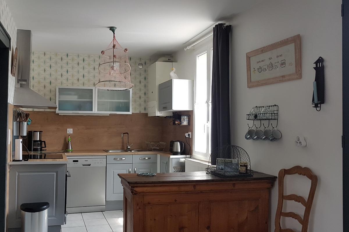 Cuisine toute équipée - Location de vacances - Saint-Valery-sur-Somme