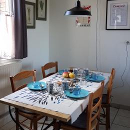 Espace repas - Location de vacances - Saint-Valery-sur-Somme
