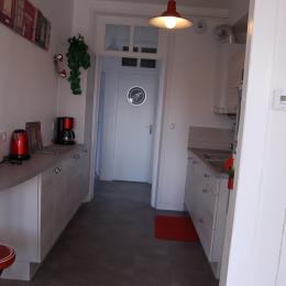 vue mer de la chambre - Location de vacances - Mers-les-Bains