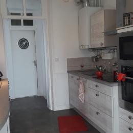 façade avec balcon - Location de vacances - Mers-les-Bains