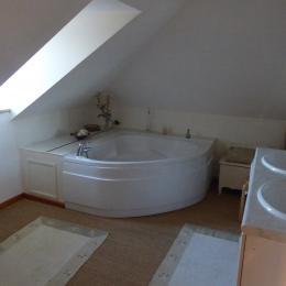 salle de bain étage - Location de vacances - Le Crotoy