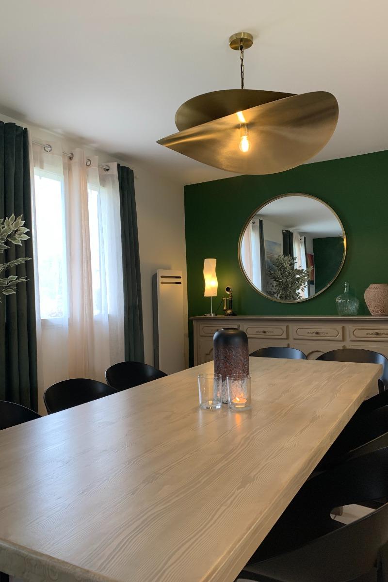 Vue du fond du jardin - Location de vacances - Pendé