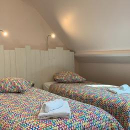 Chambre Le Hourdel (rez-de-chaussée) avec lit 160x200 - Location de vacances - Pendé
