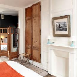 au velocipede chambre v lo 2 chambre d 39 h tes saint valery sur somme cl vacances. Black Bedroom Furniture Sets. Home Design Ideas
