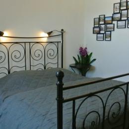la chambre face mer (1 lit de 160) - Location de vacances - Cayeux-sur-Mer