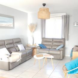 chambre lit de 160x200cm - Location de vacances - Saint-Valery-sur-Somme