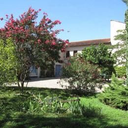 Vignoble de Gaillac (Tarn ) .  Chambres d'hôtes Mas d'Arnal - Vélo fleuri .Midi Pyrénées Occitane.  - Chambre d'hôtes - Gaillac