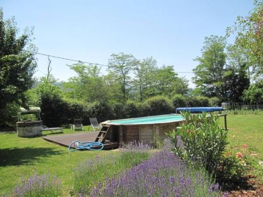 Piscine hors sol  - Rouairoux - Tarn -  - Chambre d'hôtes - Rouairoux