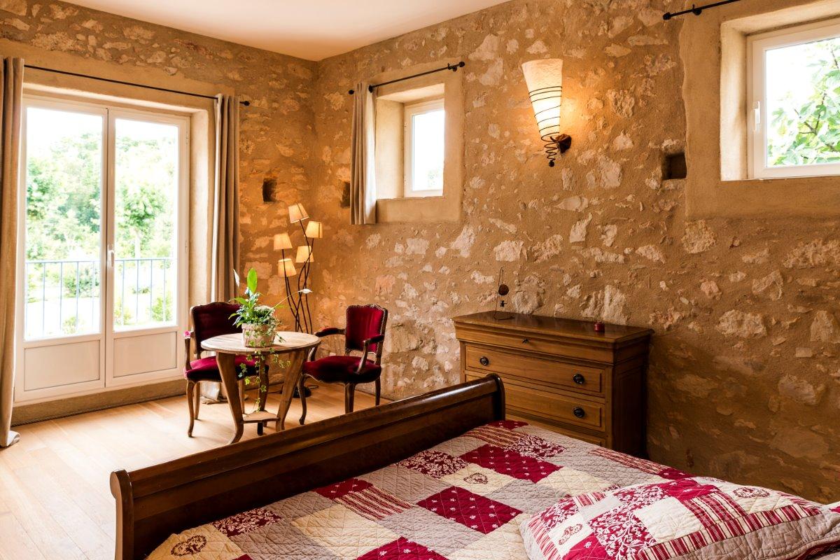 Suite Guanaco avec deux chambres indépendantes - Chambre d'hôtes - Damiatte