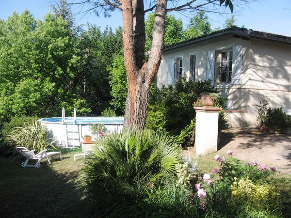 Extérieur, jardin, piscine - Rabastens - Tarn - - Chambre d'hôtes - Rabastens