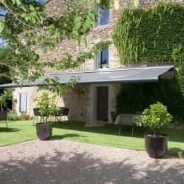 La terrasse - Chambre d'hôtes - Virac