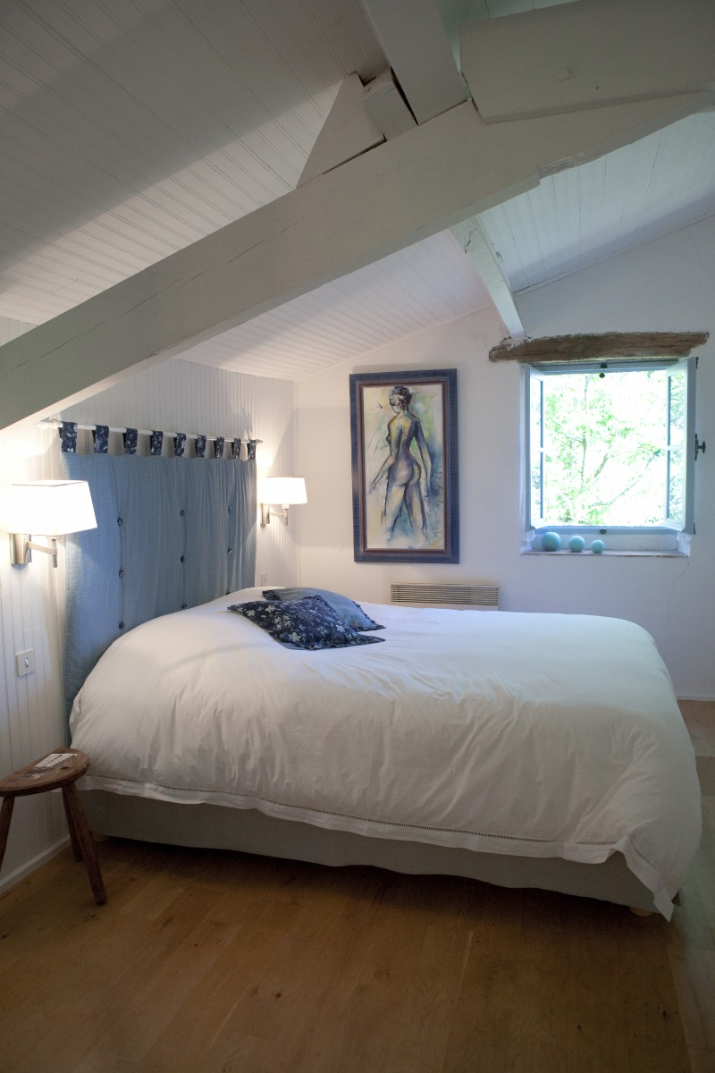 Suite pastel - 2 ou 3 personnes - VIRAC - Tarn - Chambre d'hôtes - Virac