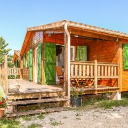 chalet à castelnau de montmiral tarn occitanie pyrenees mediteranees - Location de vacances - Castelnau-de-Montmiral