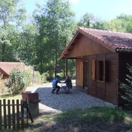 Chalet - Vallée du Tarn - Albi - Tarn - Région occitanie méditerranée - Sud Ouest - Location de vacances - Bellegarde-Marsal