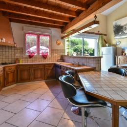 Façade et Jardin  - Cadalen - Tarn - Location de vacances - Cadalen