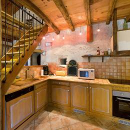 Cheminée salon,  - Lautrec - Tarn -  - Location de vacances - Lautrec