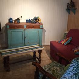 Salle de séjour  - Burlats - Tarn - - Location de vacances - Burlats