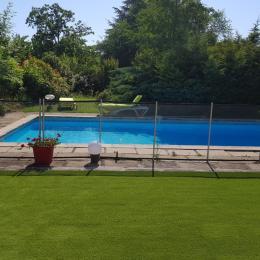 vue piscine - Location de vacances - Albi