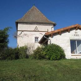 Vue façade  - Castelnau-de-lévis - Tarn - Location de vacances - Castelnau-de-Lévis