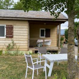 Séjour , coin cuisine   - Moulin Mage - Tarn -  - Location de vacances - Moulin-Mage
