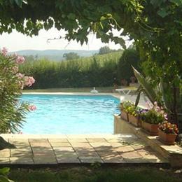 Vue façade  - Cadalen - Tarn - Location de vacances - Cadalen