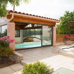 terrasse - Location de vacances - Lautrec