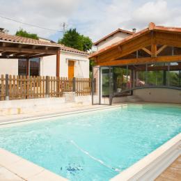 piscine - Location de vacances - Lautrec