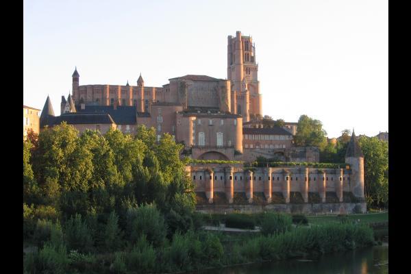 La cathédrale Ste-Cécile et le Palais de la Berbie - Albi - Tarn - Location de vacances - Albi