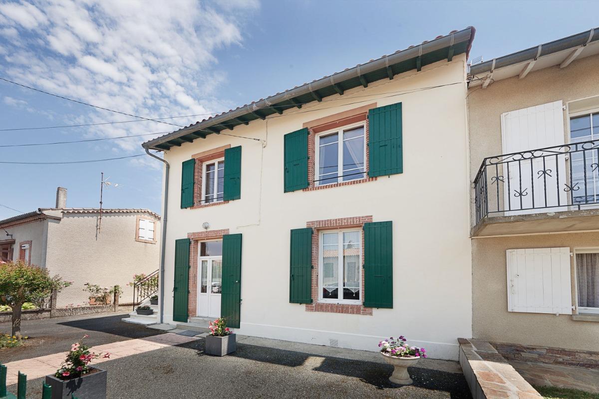 Gîte Le Lavoisier - Castres - Tarn - façade - Location de vacances - Castres