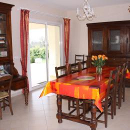 Salle à manger - Location de vacances - Sainte-Croix
