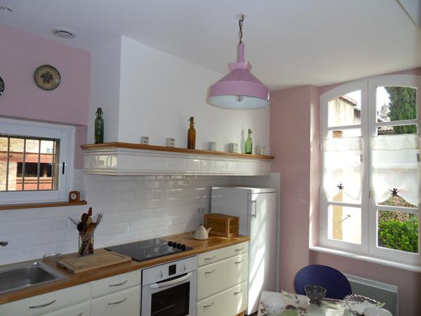 Salon séjour donnant côté jardin gîte de l'Homp - Gaillac- Tarn - Région Occitanie - Location de vacances - Gaillac