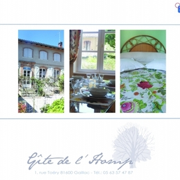 triptyque - Gite de l'Homp - Gaillac - Tarn  - Location de vacances - Gaillac