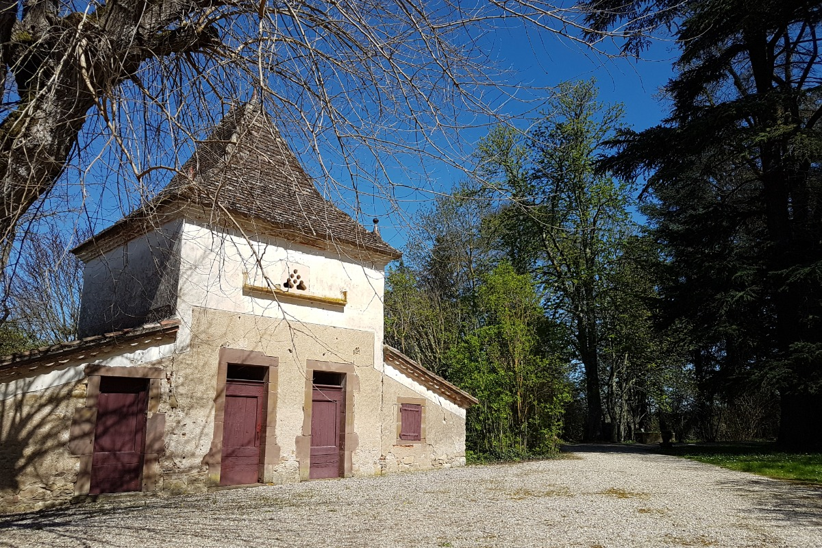 Vue principale gîte - Vindrac Alayrac - Tarn