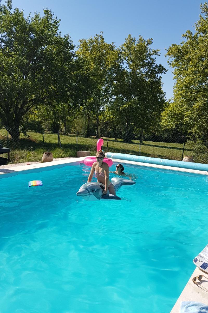 la piscine du domaine - Location de vacances - Vindrac-Alayrac