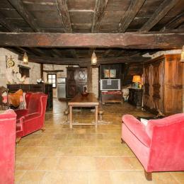 Bar de la cuisine américaine et espace salle à manger - Location de vacances - Vindrac-Alayrac