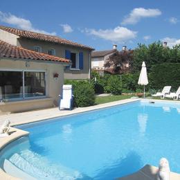 Maison 8 personnes avec piscine privée - Saint-Juery - Tarn - Midi-Pyrénées - Location de vacances - Saint-Juéry