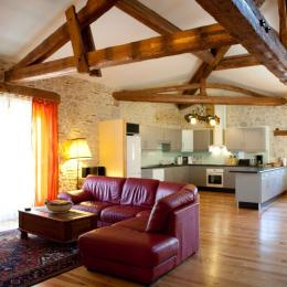grande pièce à vivre 67 m2 - Location de vacances - Vénès