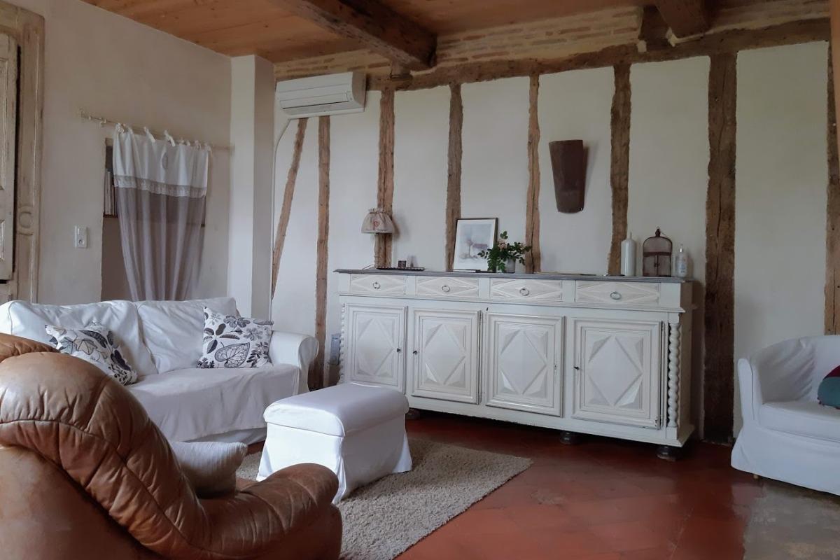 Salon, coin détente - Florentin -Tarn - Location de vacances - Florentin