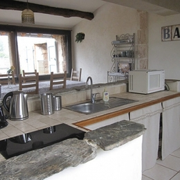 cuisine indépendante  - Location de vacances - Florentin