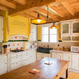 Pièce à vivre - séjour salon cuisine - Location de vacances - Gaillac
