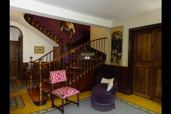 L'entrée de la maison  - Dourgne - Tarn - - Chambre d'hôtes - Dourgne