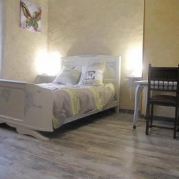 chambre a l etage - Location de vacances - Sérénac