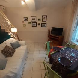 salon coin repas - Location de vacances - Rabastens
