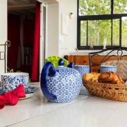 petit déjeuner au cœur de la campagne - Tarn - Location de vacances - Ambres